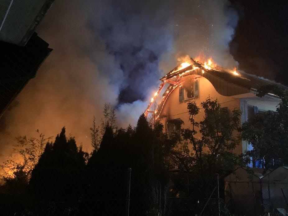 Haus in Walliswil nach Dachstockbrand unbewohnbar